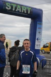 Before the Blackpool Half Marathon 2014