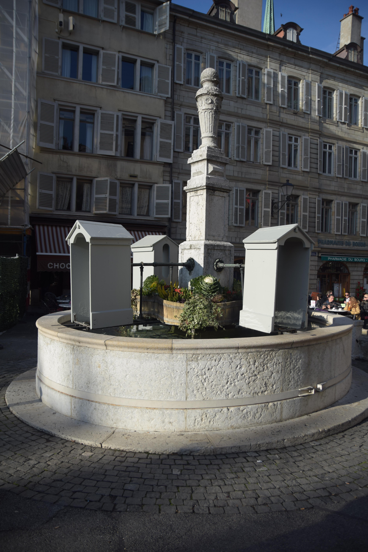Water Spring in Geneva
