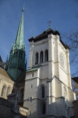 Geneva's Old Town Church