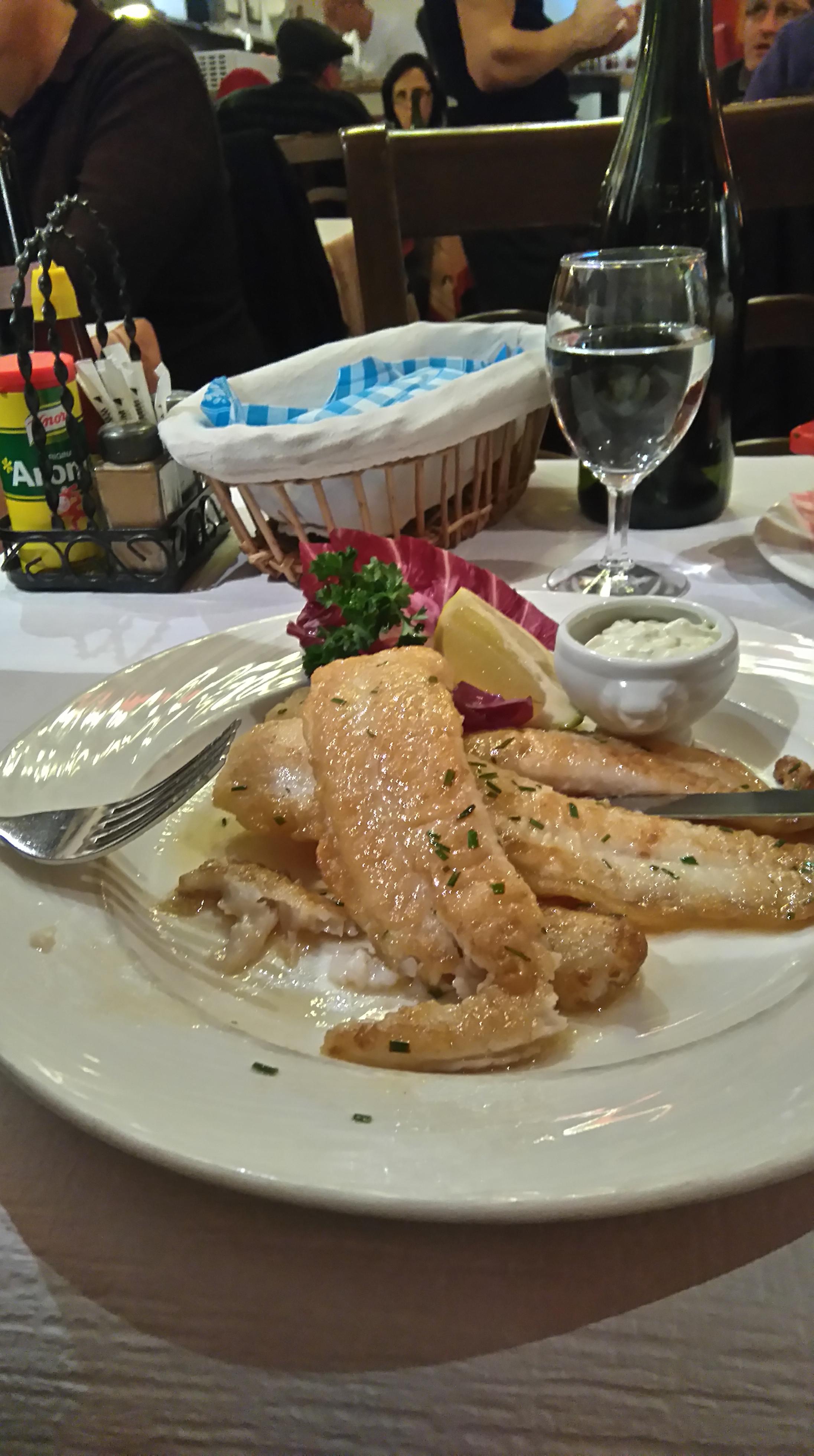 Au Petit Chalet Fish Course