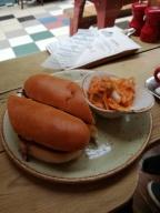 PKB Korean Chicken Sandwich